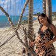 Filha caçula de Simone, Zaya completa 2 meses no final de abril