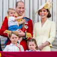 Louis é o filho mais novo de Kate Middleton e William: os dois também são pais de Charlotte e George