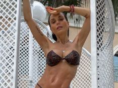 Flávia Viana explica corpo magro no pós-parto ao receber crítica na web: 'Estou amamentando'
