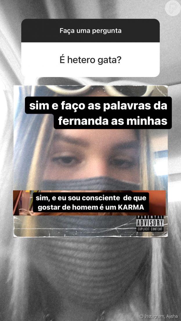 Filha de Simony, Aysha brinca sobre sexualidade aos 17 anos: 'Karma'