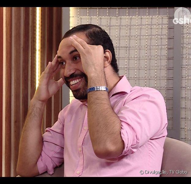 Gilberto é o 16º eliminado do 'BBB21'