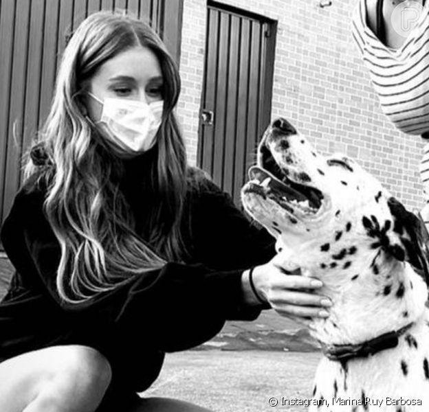 Marina Ruy Barbosa adota novo pet: 'Também sou da cachorrada'