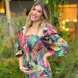 Mulher de Léo Santana, Lorena Improta observa mudança no corpo com 1ª gravidez