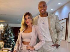 Léo Santana se diverte por reação de bebê com Lorena Improta em novo ultrassom