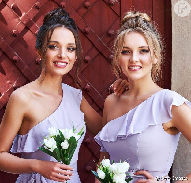 15 fotos com ideias de penteado de casamento para madrinhas. Inspire-se!