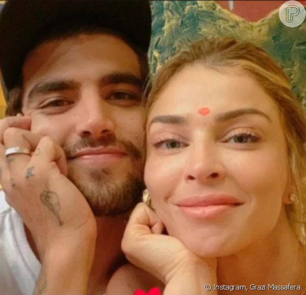 Web levanta rumor de Grazi Massafera e Caio Castro morando juntos