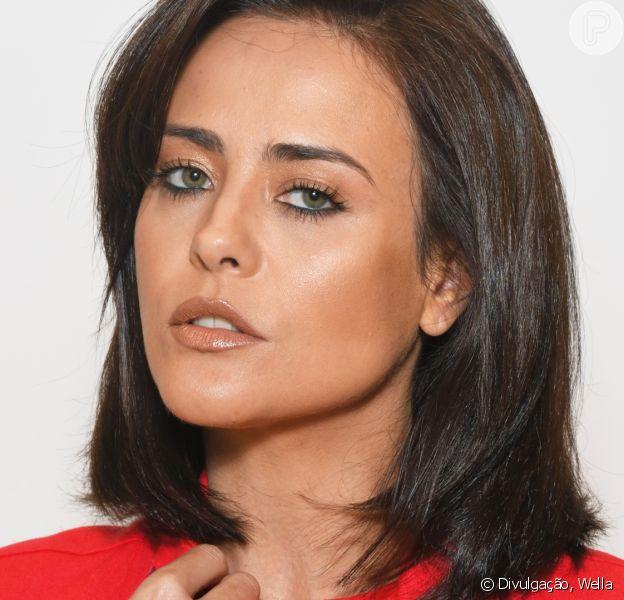 Juliana Silveira muda visual e adota cabelos curtos e castanhos