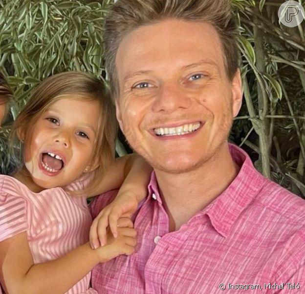 Michel Teló mostra reação da filha quando crianças o escolhem no 'The Voice Kids'. Veja!