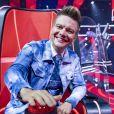 Michel Teló fez sua estreia no time de técnicos do 'The Voice Kids'
