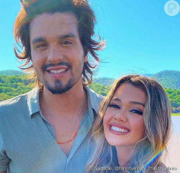 Framciny Ehlke confirmou que ficou com Luan Santana quando se encontraram no Pantanal, em um show do sertanejo