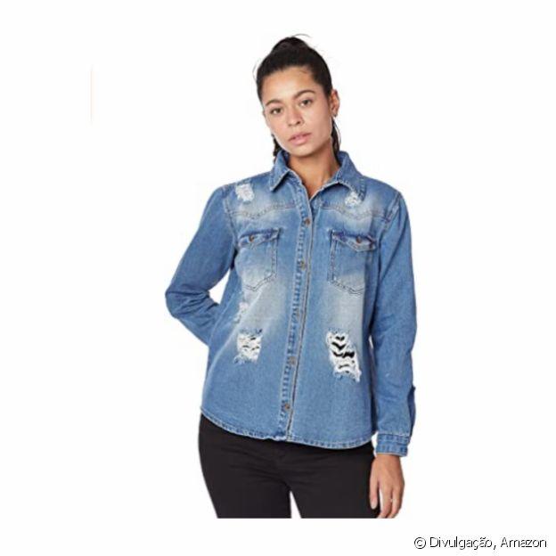 Camisa Jaqueta Feminino, da Zune