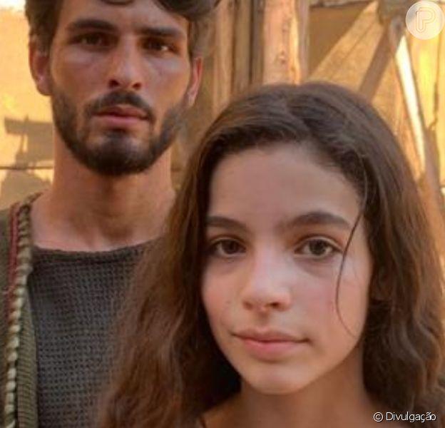 Bruna Perdigão enfrenta drama com o pai na novela 'Gênesis': 'Não gosta de olhar para Lia'