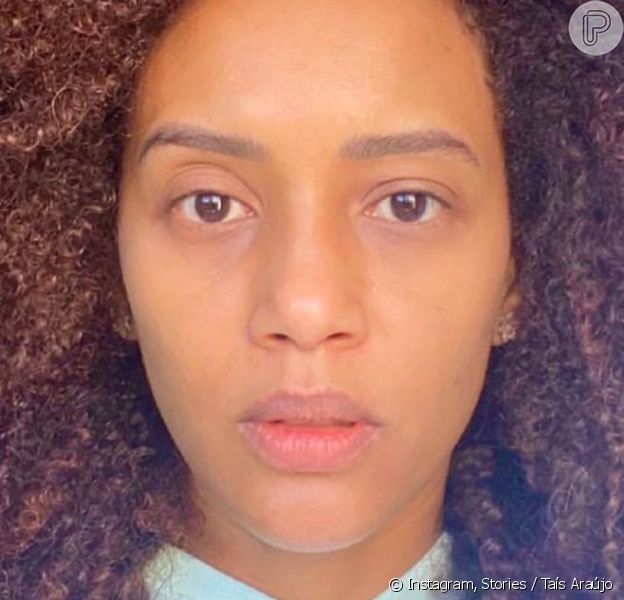 Taís Araújo posa sem maquiagem e gera debate polêmico na web