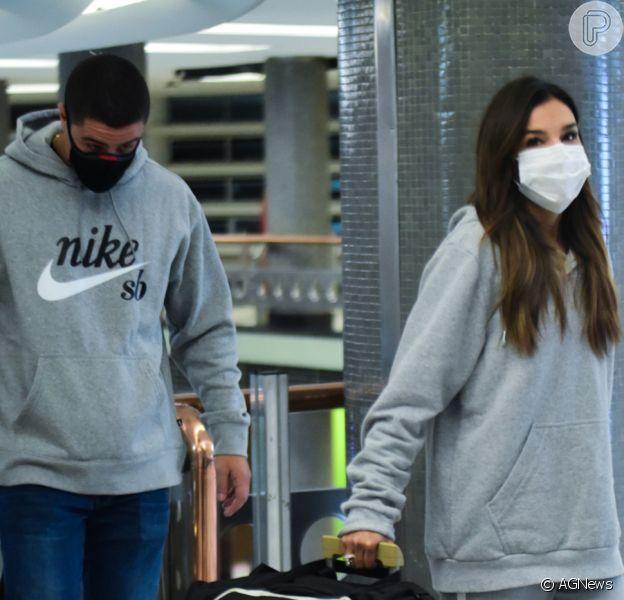 Mariana Rios está vivendo affair com João Pedro, rapaz natural de Araxá, Minas Gerais, diz o colunista Leo Dias em 3 de julho de 2021