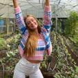 Festa teria acontecido na fazenda do namorado de Marina, onde ela já esteve em abril