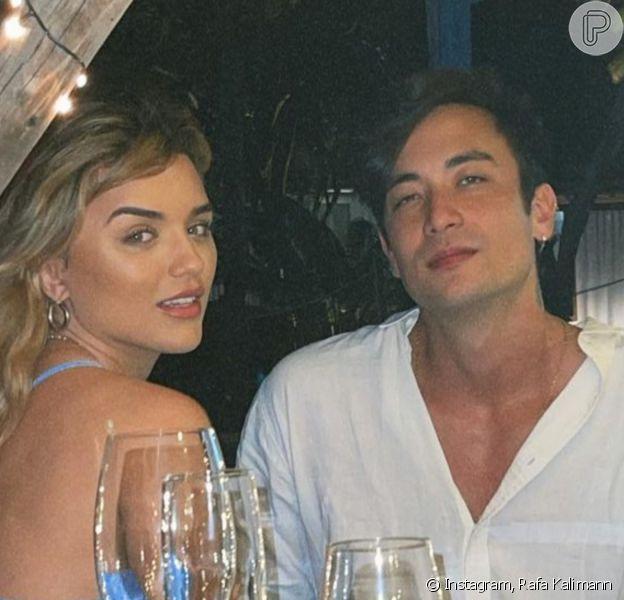Daniel Caon e Rafa Kalimann ganharam torcida para reatarem o namoro após cantor postar 1ª foto depois do término