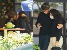 Sophia Raia e o namorado, Felipe Lati, trocam beijos em 1ª aparição do casal. Fotos!