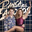 Carmo Dalla Vecchia disputou o 'Super Dança dos Famosos'