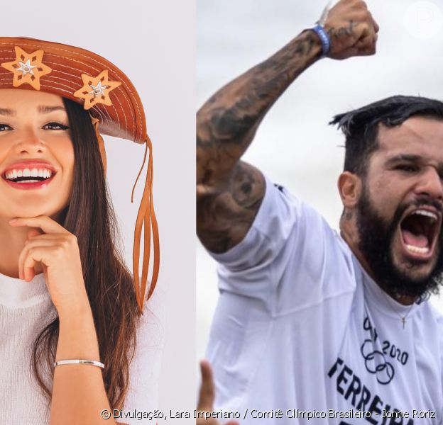 Juliette elogia beleza de atletas nas Olimpíadas e Ítalo Ferreira responde