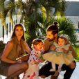 Romana Novais e Alok são casados desde 2019 e pais de Ravi, de 1 ano e Raika, que acaba de completar 8 meses