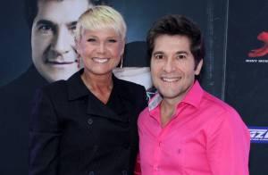 Xuxa prestigia show de Daniel e ganha imagem de Nossa Senhora do cantor