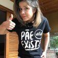 Samara Felippo esclareceu aos seguidores: 'Pai que paterna não faz mais que a obrigação'