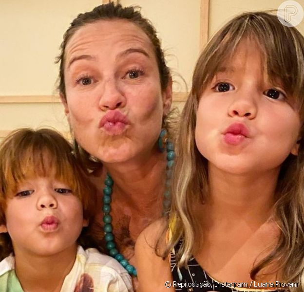 Filha de Luana Piovani foi comparada à atriz em foto