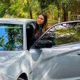 Filha de Gugu Liberato, Sofia mostrou o carro escolhido para os fãs em foto nas redes sociais