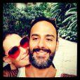 A atriz Carolina Ferraz está grávida de  Marcelo Marins