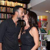 Grávida, Carolina Ferraz viaja com o marido para os EUA e faz enxoval da filha