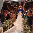 Viviane Araujo e Guilherme Militão: casamento teve 2 bolos, vinhos e buffet