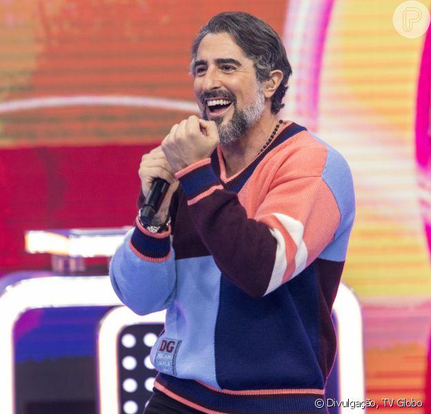 Marcos Mion foi muito elogiado na web por sua estreia no 'Caldeirão' neste sábado, 4 de setembro de 2021