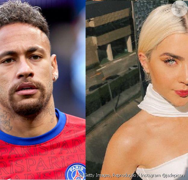 Neymar é lembrado por seguidores de Jade Picon em postagem da influencer