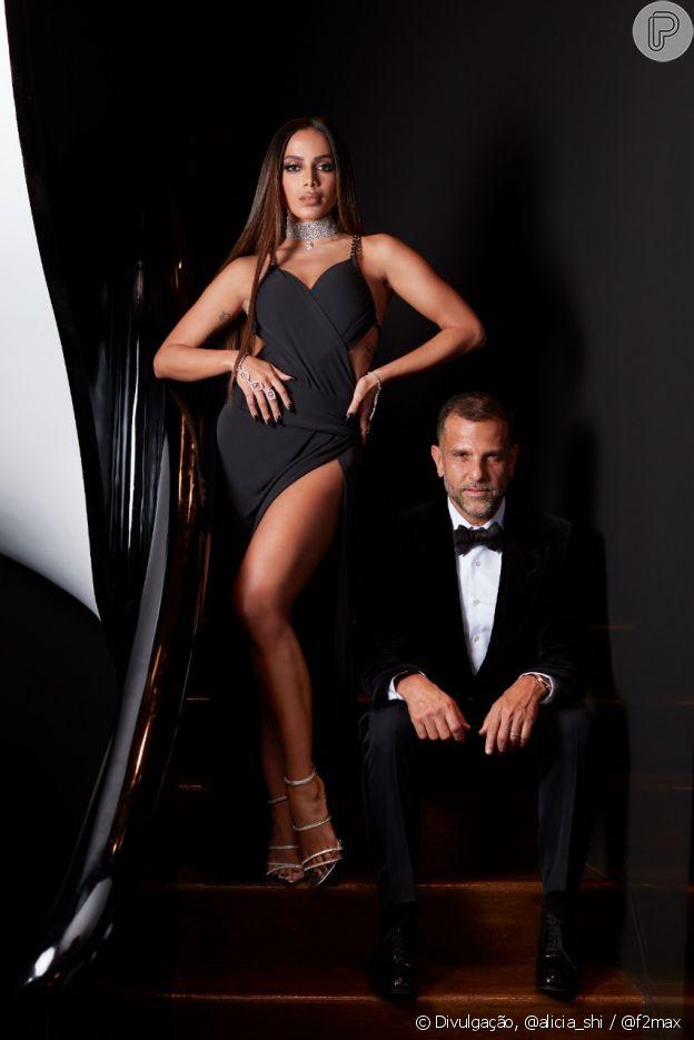Anitta e Alexandre Birman no MET Gala 2021