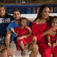 Ivete Sangalo prestou homenagem após cantar com filho, Marcelo