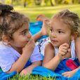 Ivete Sangalo também é mãe das gêmeas Helena e Marina, de 3 anos