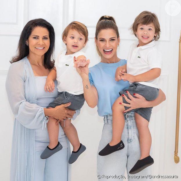 Andressa Suita aponta mãe como inspiração em sua trajetória: 'Mulher forte'