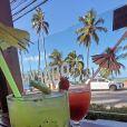 Sarah Andrade postou foto de drinks e fãs apontaram Lucas Viana