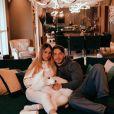 Sarah Andrade e Lucas Viana viajam juntos