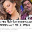 Imprensa italiana repercute fala de Dayane Mello em 'A Fazenda 13', dizendo que ficou mais famosa que o vencedor do 'BBB' europeu