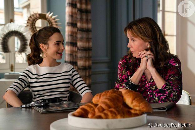 Penteados de 'Emily In Paris': protagonista usa rabo de cavalo sofisticado