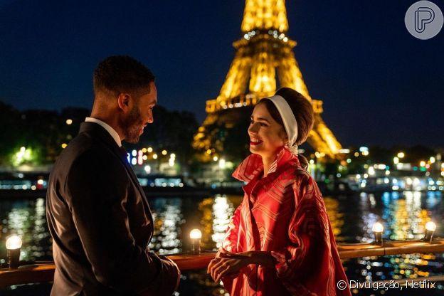 Penteados de 'Emily In Paris': visual retrô rouba cena