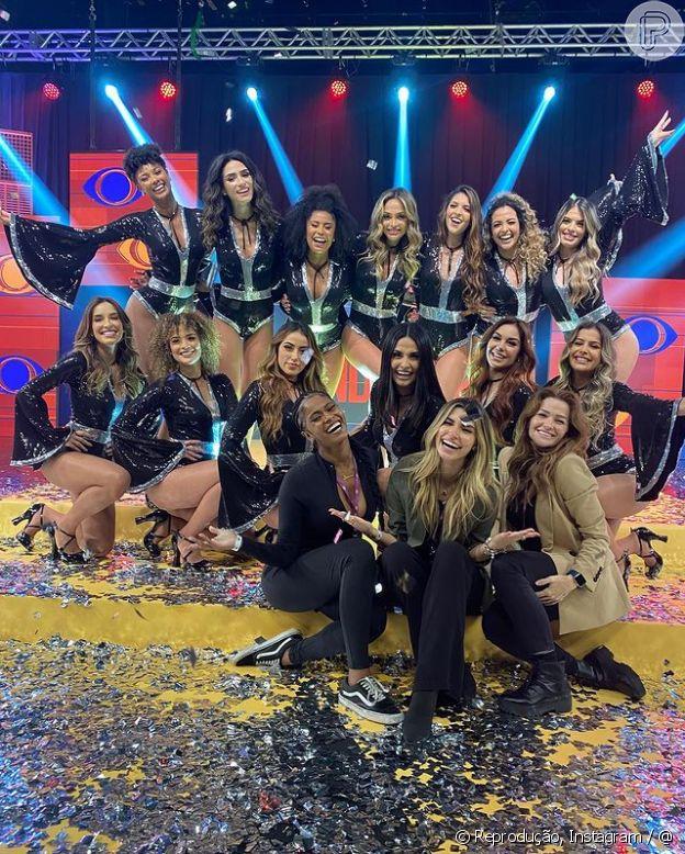 As novas bailarinas do Faustão