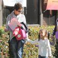Halle Berry adora fazer penteados diferentes em Nahla, mas unca mudou a naturalidade dos fios de sua filha
