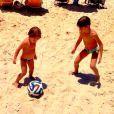 Noah é irmão mais velho de Guy, filho de Danielle Winits com o ator Jonatas Faro
