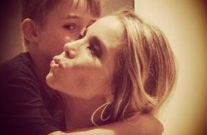 Noah, filho de Danielle Winits e Cassio Reis, faz aniversário de 7 anos. Fotos!