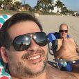 Leandro Hassum viaja para Miami após cirurgia bariátrica