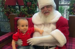 Ana Hickmann celebra primeiro Natal ao lado do filho, Alexandre