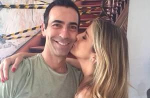 Ticiane Pinheiro parabeniza o namorado, Cesar Tralli, por aniversário: 'Vida'