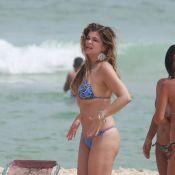 Cristiana Oliveira usa biquíni em dia de praia e mostra boa forma aos 51 anos